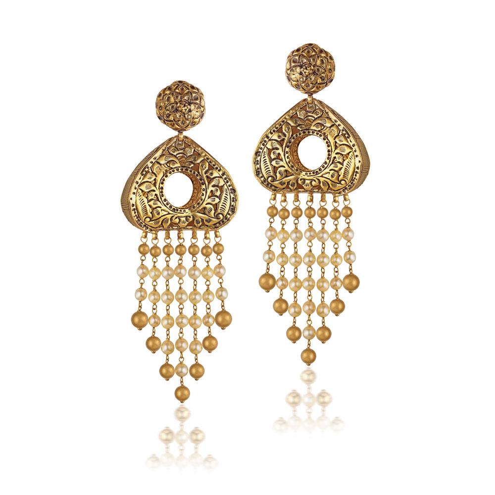 Bridal chandelier earrings earrings chandelier designs gold chandeliers aloadofball Choice Image