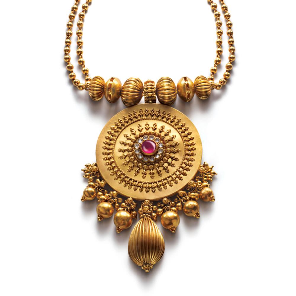 buy gold pendant set latest gold pendant set designs